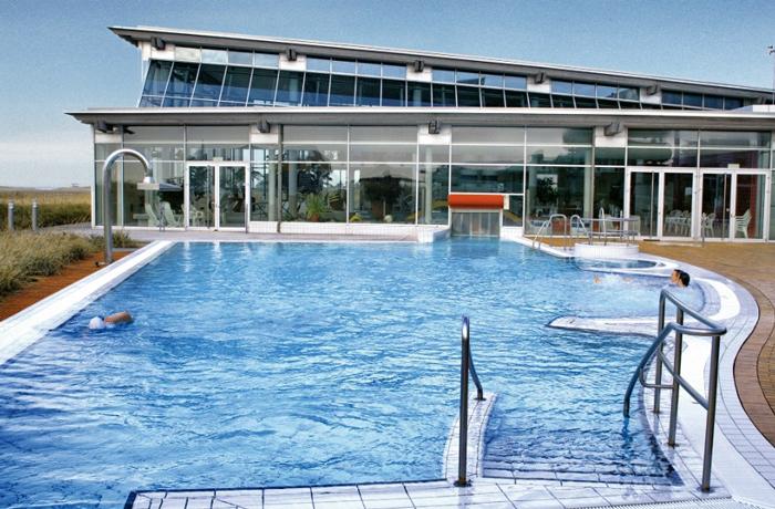 Strandgut Resort St.Peter Ording Strand Pool