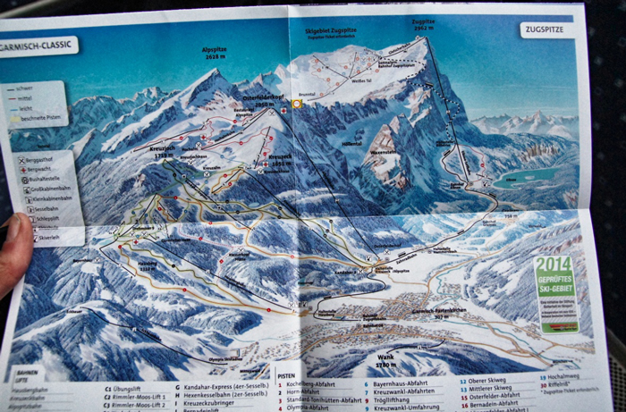 Garmisch-Classic-Karte