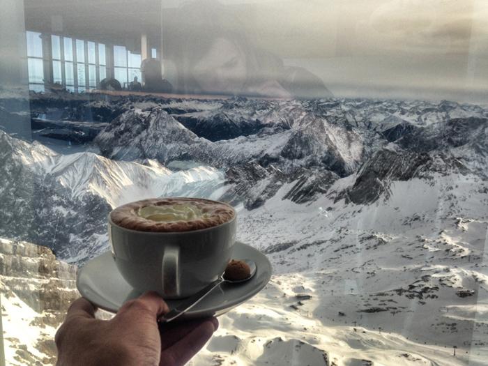 Kaffe-Zugspitze
