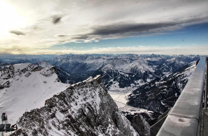 Panoramaplattform-Zugspitze