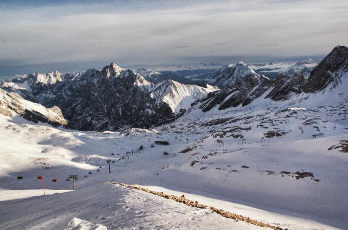 Sonnalpin-Zugspitze-Piste