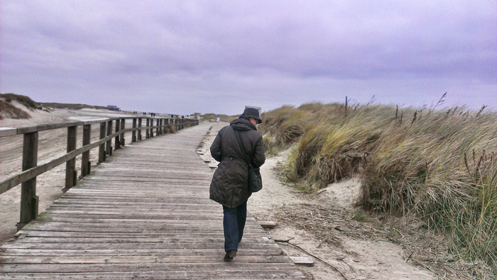 Spaziergang-Nordsee