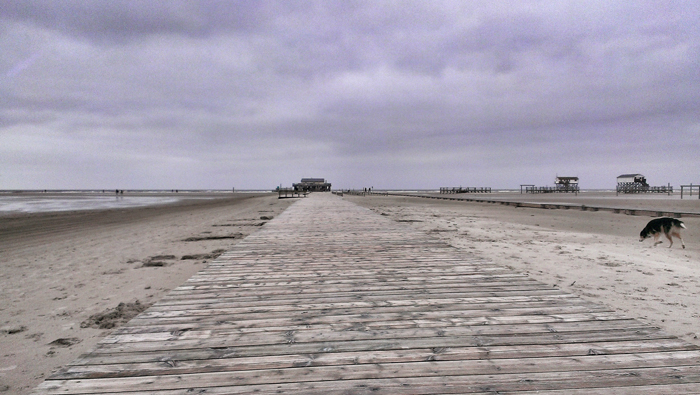 Strand_Weg_Nordsee
