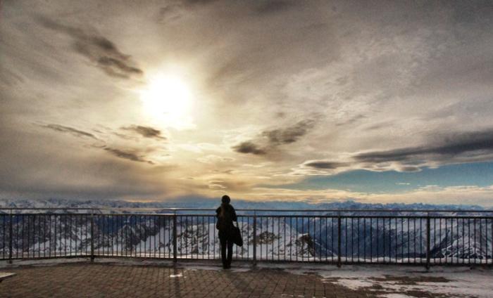 Vierländerpanorama-Zugspitze