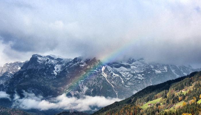 Werfenweng-Regenbogen