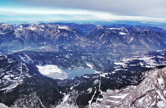 Zugspitze-top-of-germany