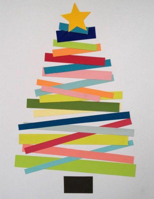 Unechte Weihnachtsbäume-Papier