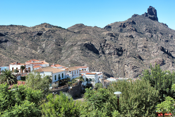Dorf-in-den-Bergen-Grand-Canaria
