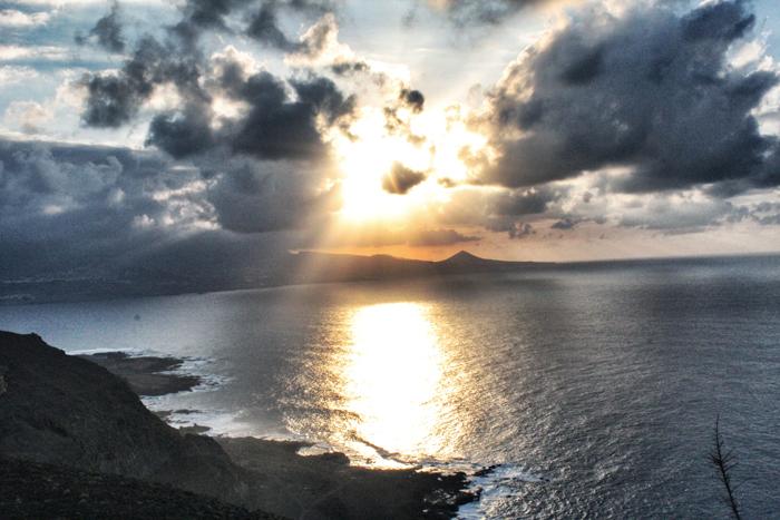 Grand-Canaria-Sonnenuntergang