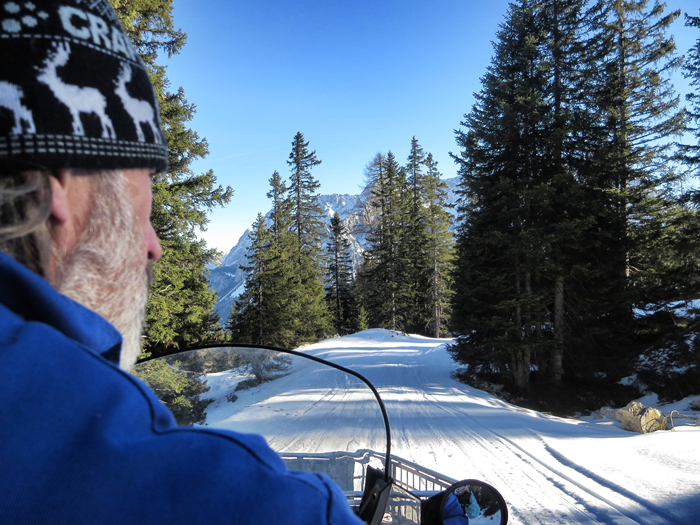 Snowboarden in Tirol