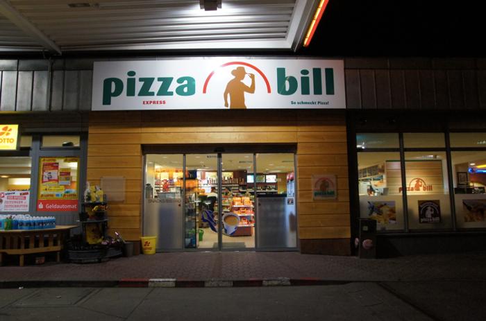 Pizza-bill