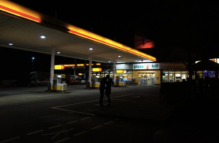 Shell-Tanlstelle-Knetzgau