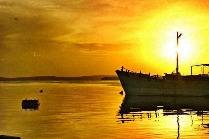 Backpacking-Sonnenuntergang-Kuba