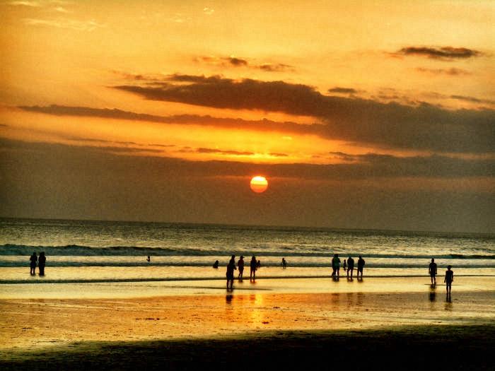 Bali-Sonnenuntergang