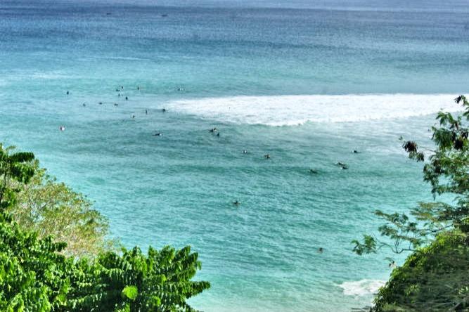 Bali-Uluwatu-Wellen