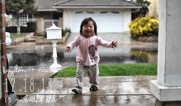 Das erste Mal Regen