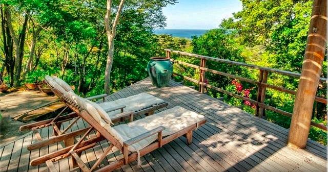 Dschungelaussicht-Airbnb