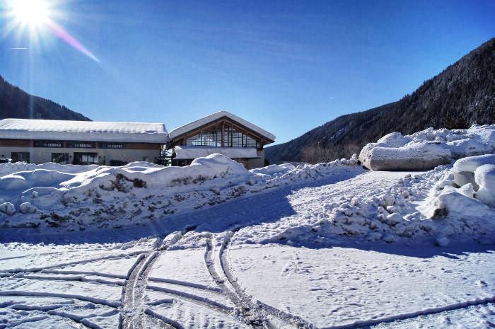 Im Gitschberg Jochtal Skigebiet