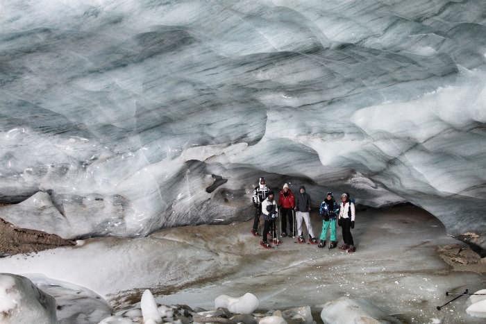 Meraner Land - Gletscher - Gruppenbild