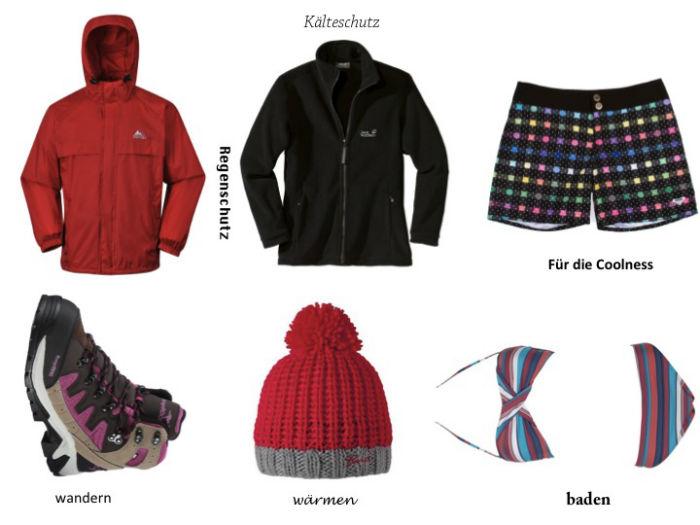 NZ Packliste Kleidung