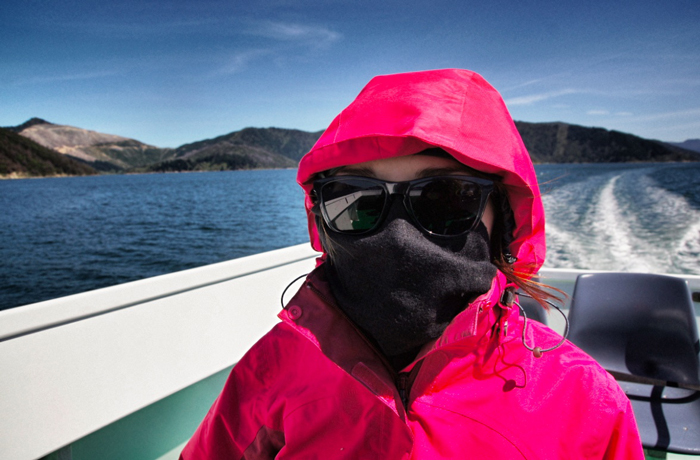 Neuseeland-Bootstour
