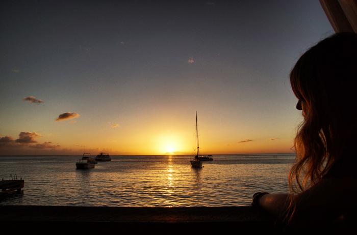 Sonnenuntergang-Domenica