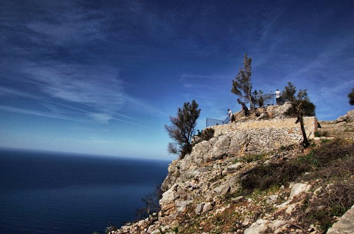 Aussichtspunkt-Küste