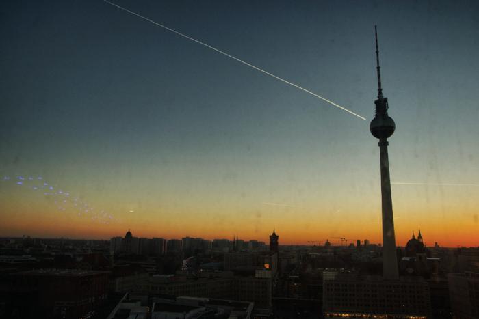 Berlin-Sonnenuntergang