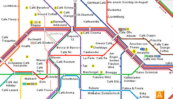 Cafémap