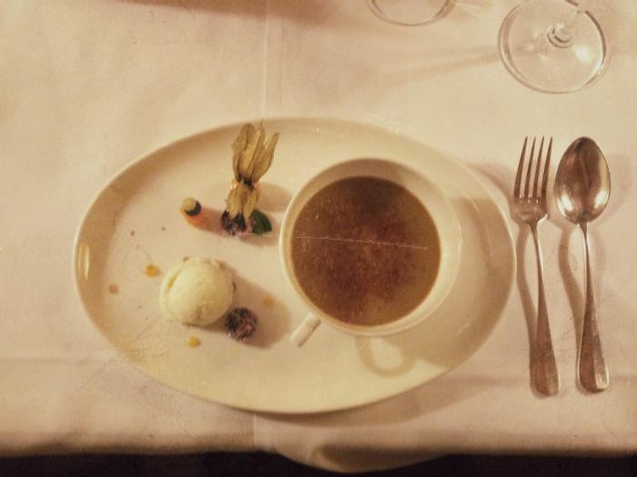Crème Brûlée im Elephant, Brixen
