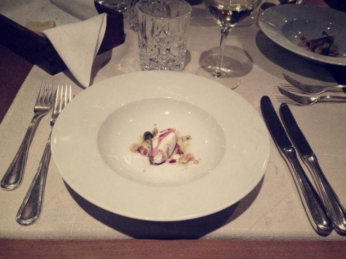 Gruß aus der Küche im Miramonti Hotel