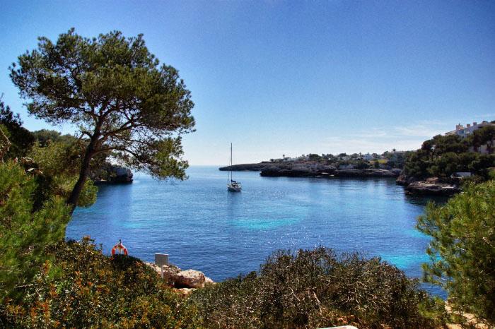 Mallorca-Bucht-Wasser