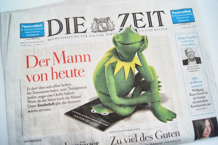 Mann-von-Heute-Zeitmann