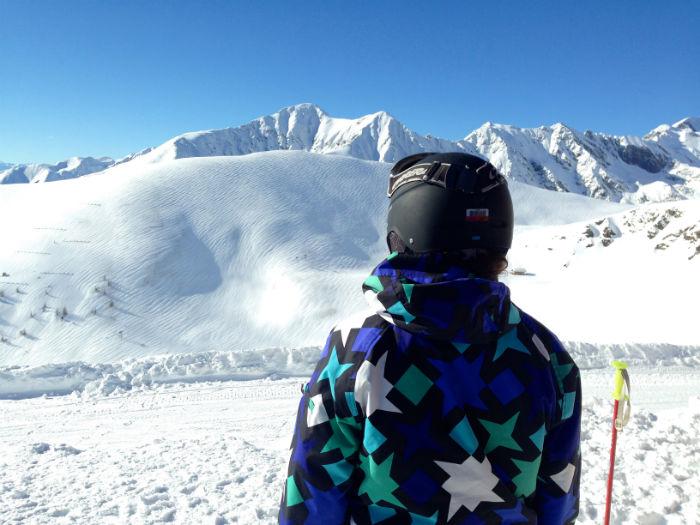 Menschen in Südtirol - Auf dem Gipfel