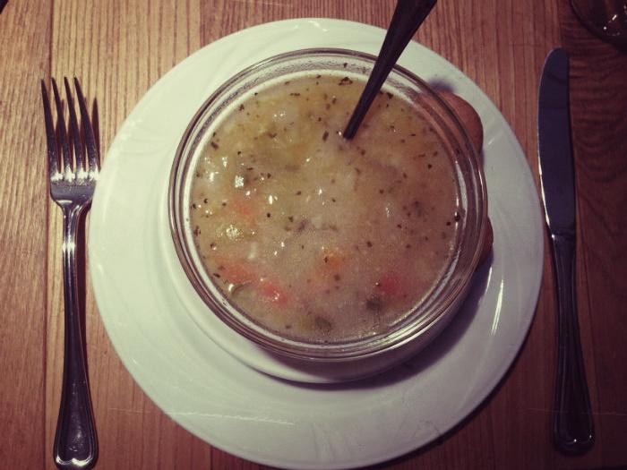 Suppe in Meran, Südtirol