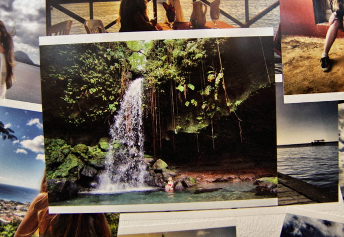 Wasserfall-Dominica