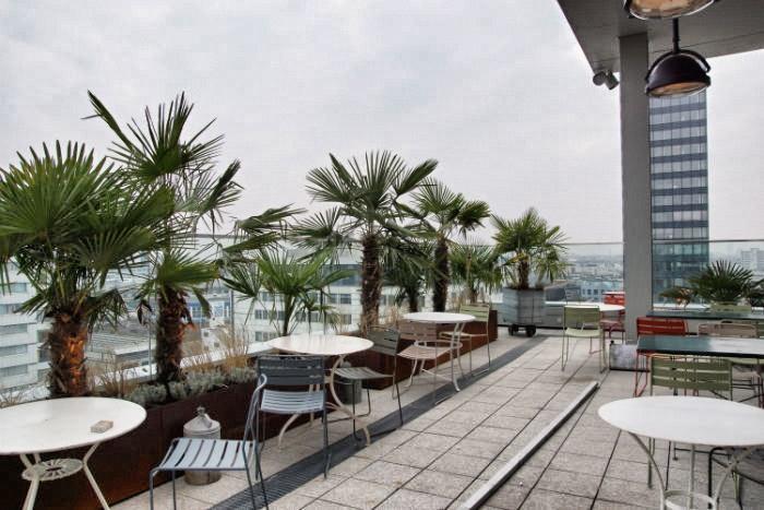 25 Hours Hotel in Berlin - Aussicht