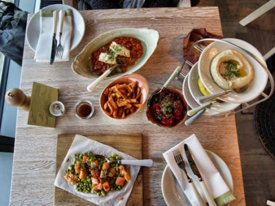 25 Hours Hotel in Berlin - NENI Restaurant