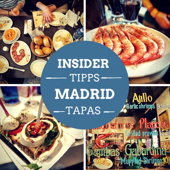 Madrid Reiseführer Tapas