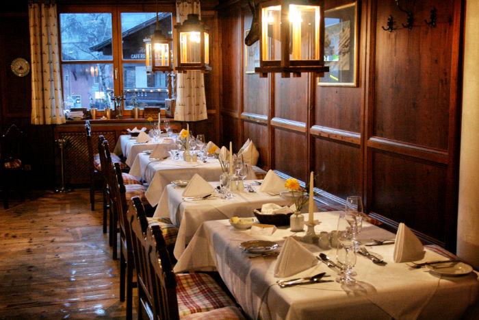 AlpenhausKaprun_Dinner
