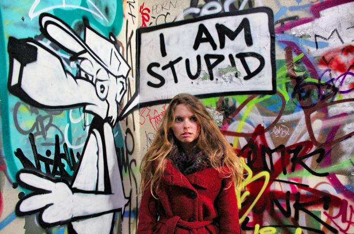 Christine Neder Stupid