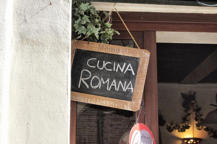 Cucina Romana in Rom