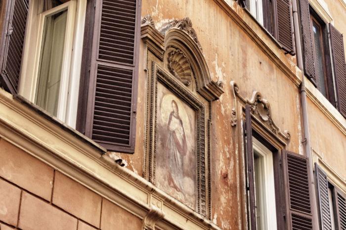 Die Heilige Maria in Rom