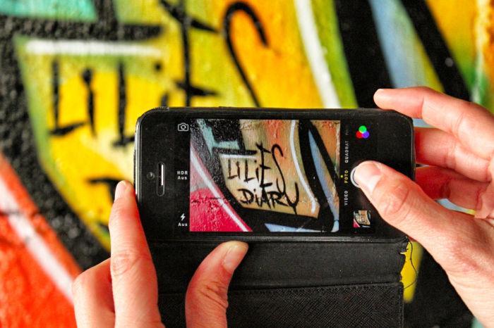 Grafitti Lilies Diary