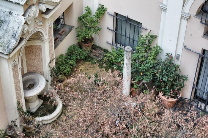 Innenhof in Rom