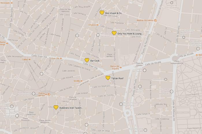 Madrid Reiseführer Cafés