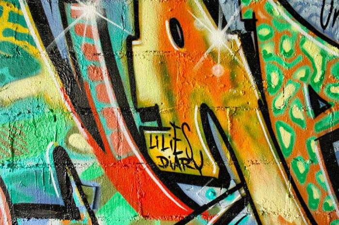 Lilies Diary Grafitti Teufelsberg