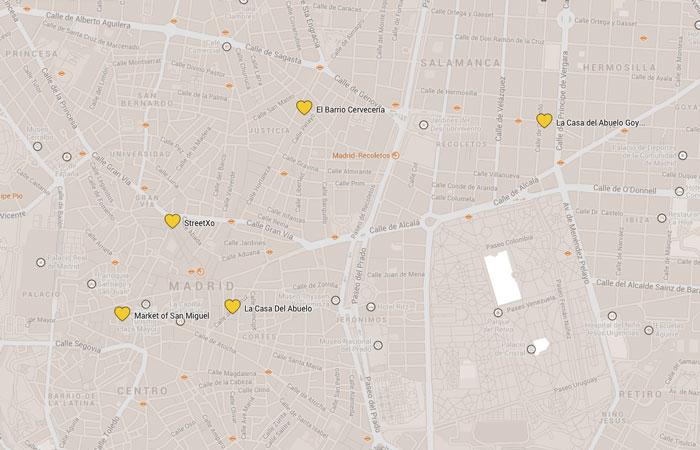 Madrid-Tapas-Karte