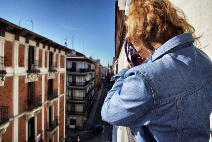 Only You Hotel Madrid Aussicht
