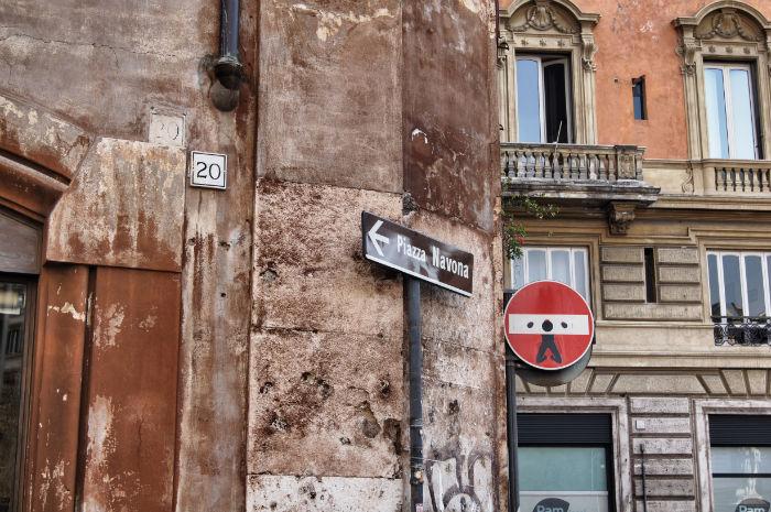 Pizza Navona in Rom